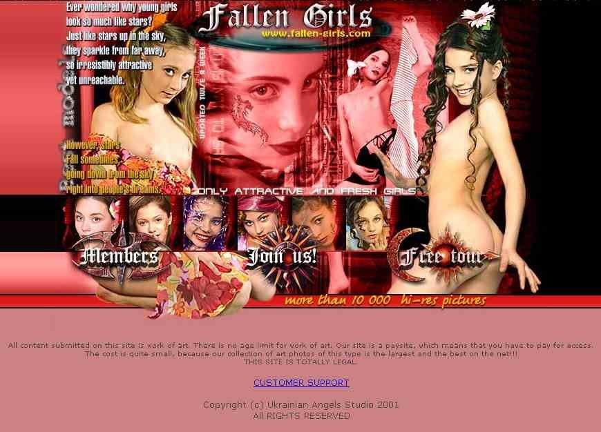 Fallen Girls Model