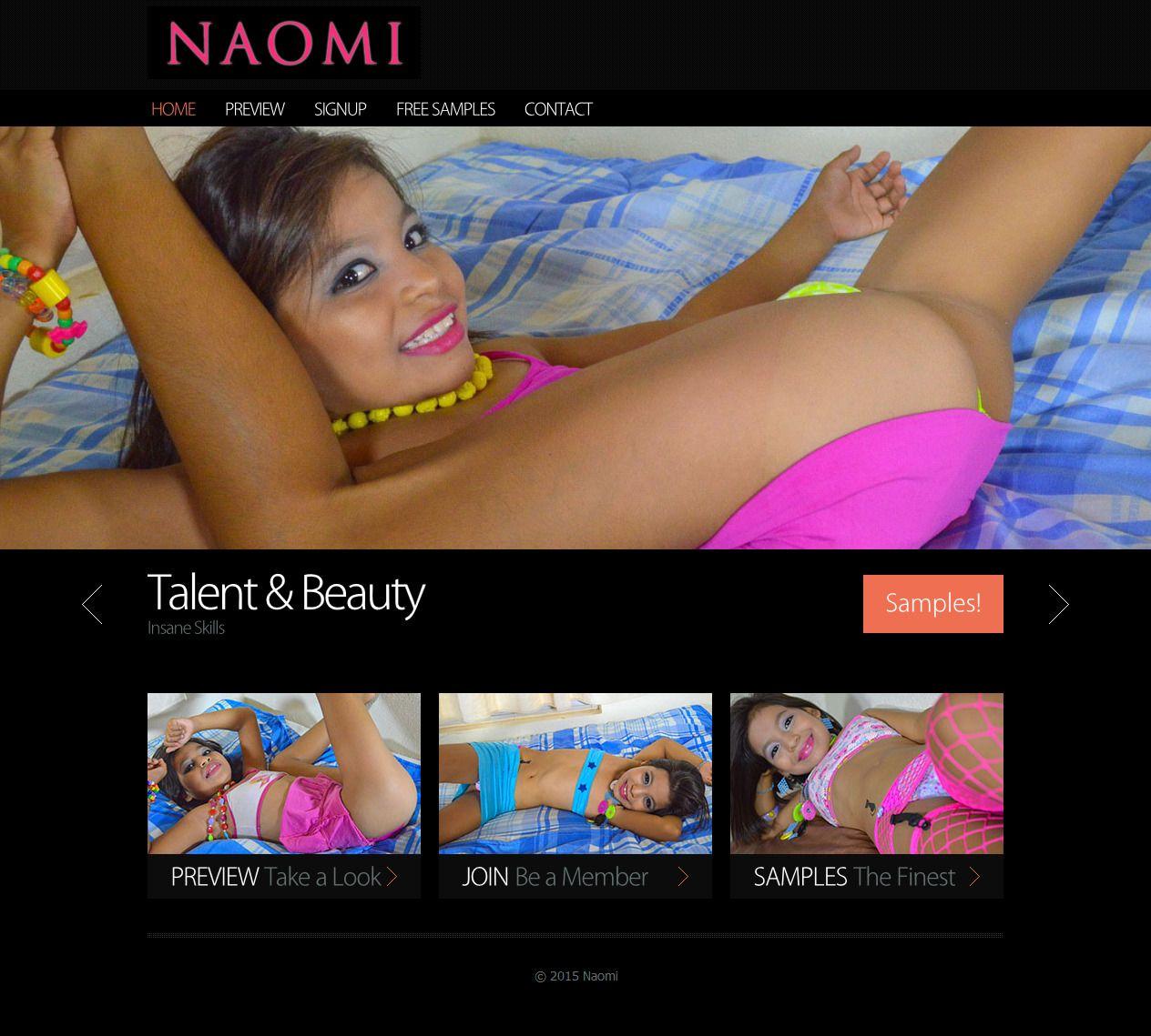 Naomi 9 Years Old Model