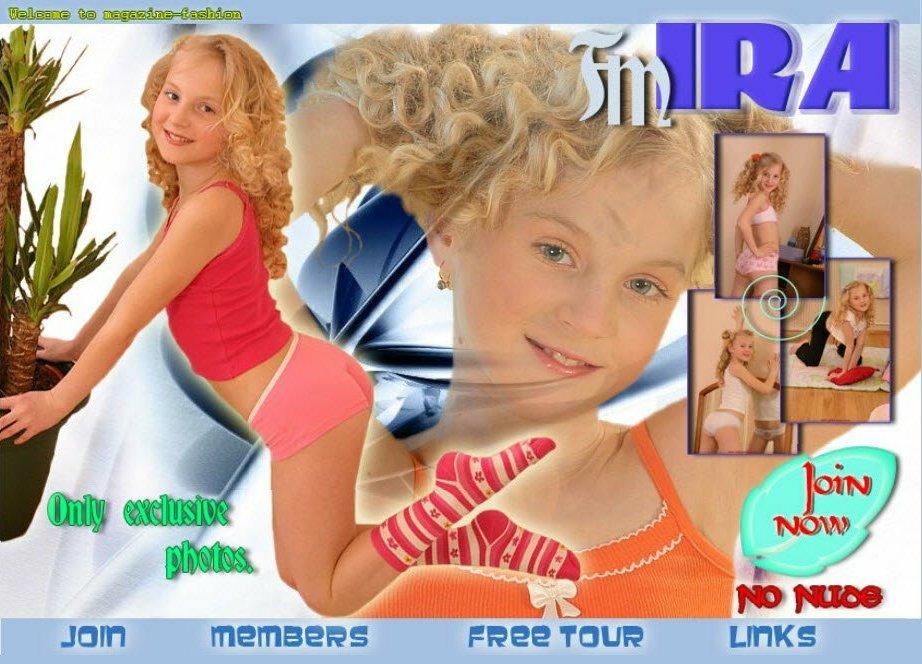 Fashion Model Ira